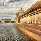 Christian Science Plaza Pool by Jack DiMaio