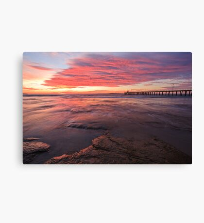 Sunrise@PL Canvas Print