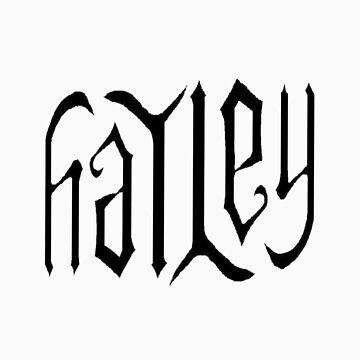 Hayley T-shirt by redchipmunk