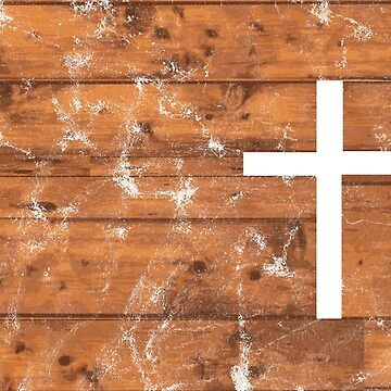The Cross - Inspired Wooden Design, Washed and Worn  by dutchlovedesign
