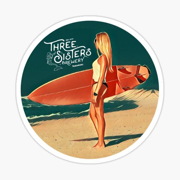 Three Sisters Brewery Oakura Blonde Sticker