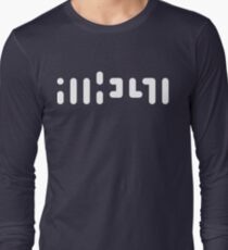 ATHEIST (white) Long Sleeve T-Shirt