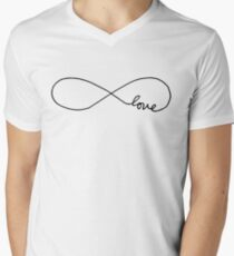 Infinite Love Men's V-Neck T-Shirt