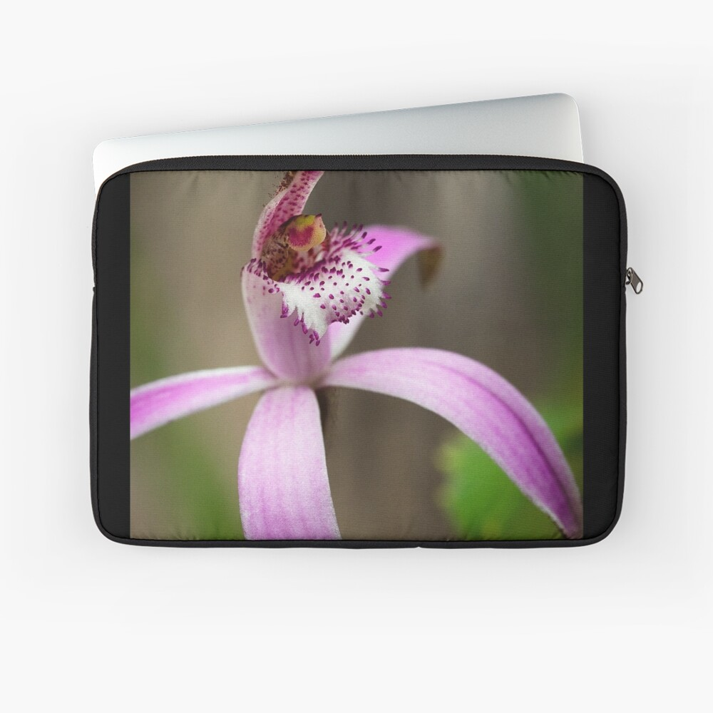 Pink Candy Orchid Laptop Sleeve