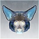 Topographic: Aardwolf - Inverted by NoelleMBrooks