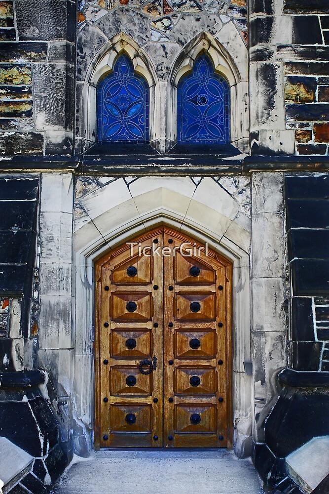 Behind Closed Door by TickerGirl