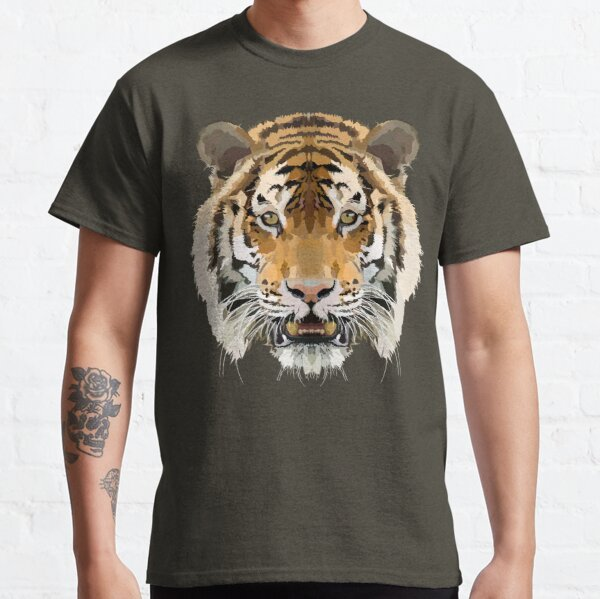 Topographic: Tiger Classic T-Shirt