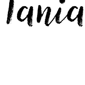 Tania - Name Stickers Tees Birthday by klonetx