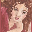 Sylvia Sidney by redqueenself