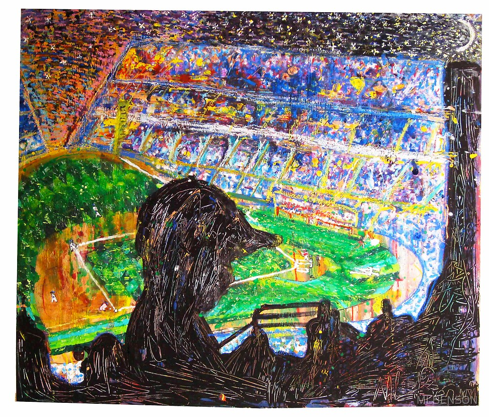 A Starry Twilight In Chavez Ravine by MLBENSON