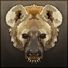 Topographic: Spotted Hyaena by NoelleMBrooks
