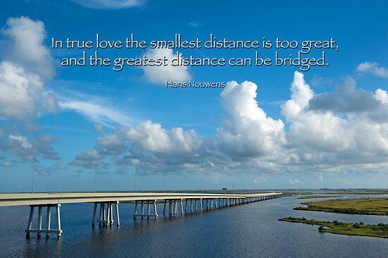 True Love Builds a Bridge by Bonnie T.  Barry