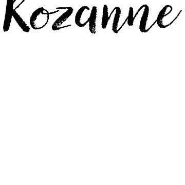 Rozanne - Cute Names For Girls Stickers & Shirts by soapnlardvx
