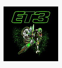 Motocross and Supercross Champion Eli ET3 Tomac Photographic Print
