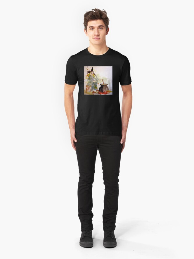 Alternate view of A Witch called Zee Slim Fit T-Shirt