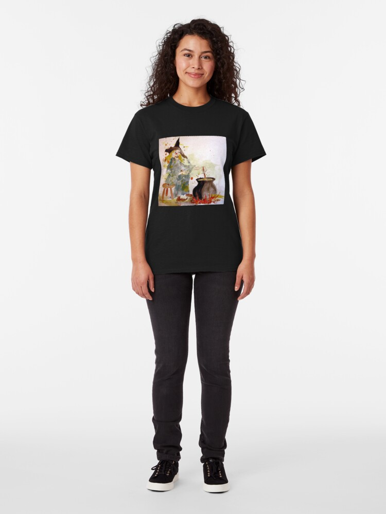Alternate view of A Witch called Zee Classic T-Shirt