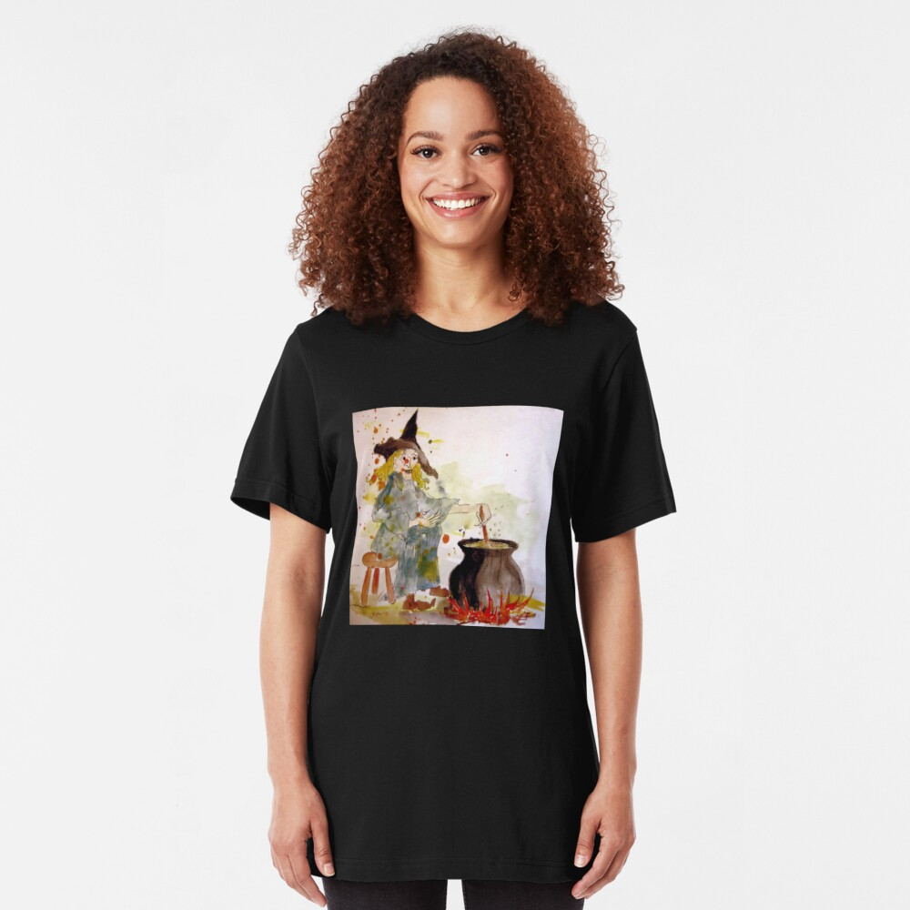 A Witch called Zee Slim Fit T-Shirt