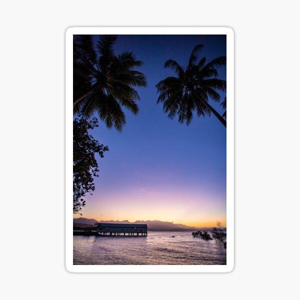 Port Douglas sunset Sticker