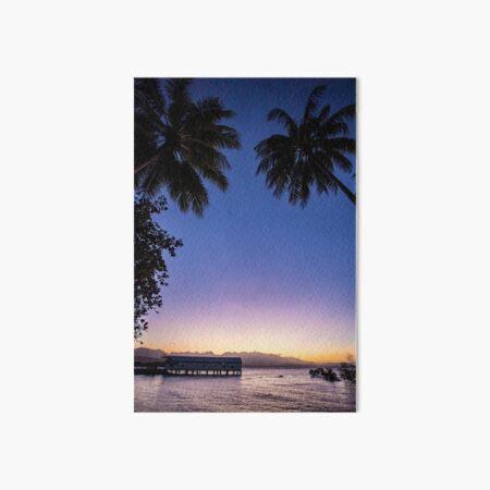 Port Douglas sunset Art Board Print