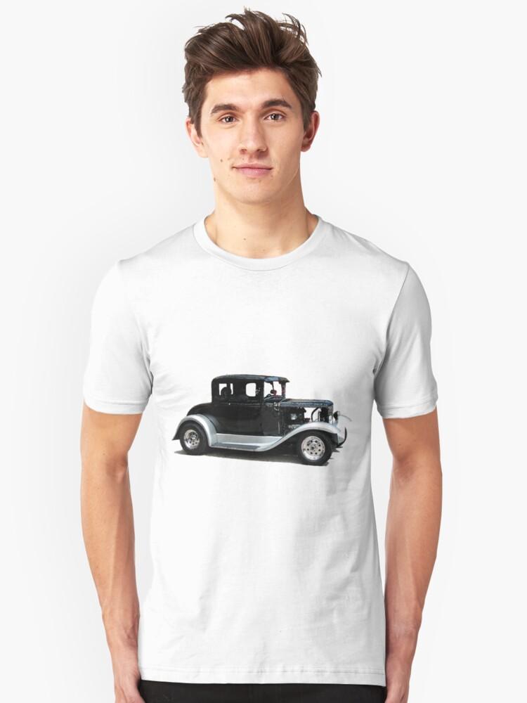 Model A Unisex T-Shirt Front
