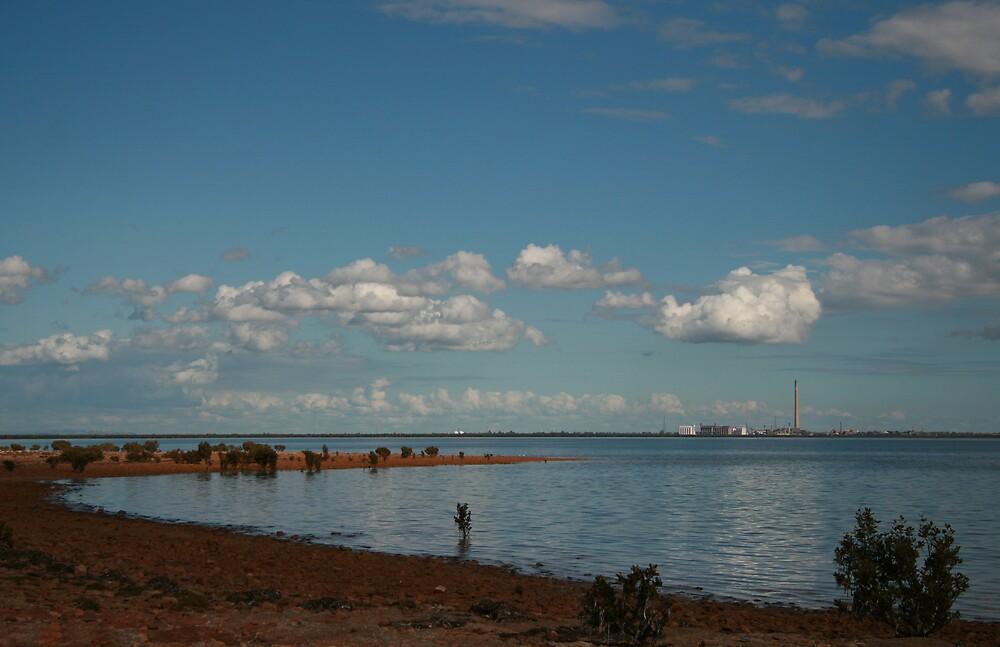 Port Pirie Smokestack by pablosvista2