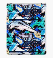 Graffiti-Detail (Carlton) iPad-Hülle & Klebefolie