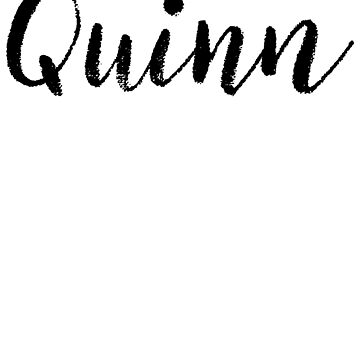 Quinn - Cute Names For Girls Stickers & Shirts by soapnlardvx