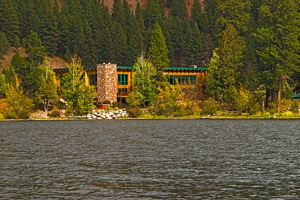 The Lodge at Salmon Lake by Bryan D. Spellman