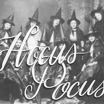 Hocus Pocus Vintage Witches by MandiKing