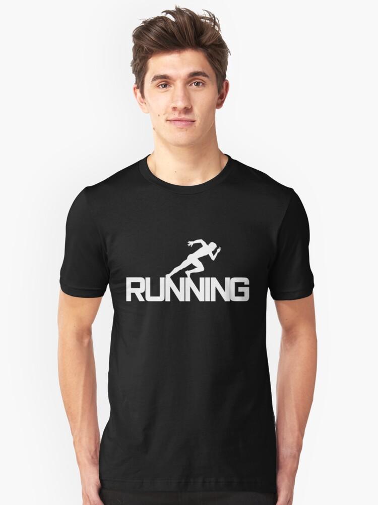 Jogging Running Running Jogging Sport Running group Unisex T-Shirt Front