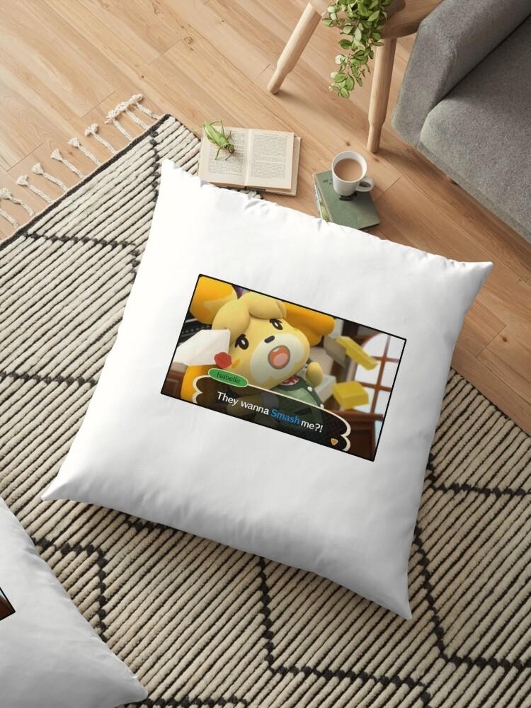 \'Smash Isabelle\' Floor Pillow by Gordon559