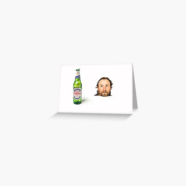 Hmmmm, Beer!! Greeting Card