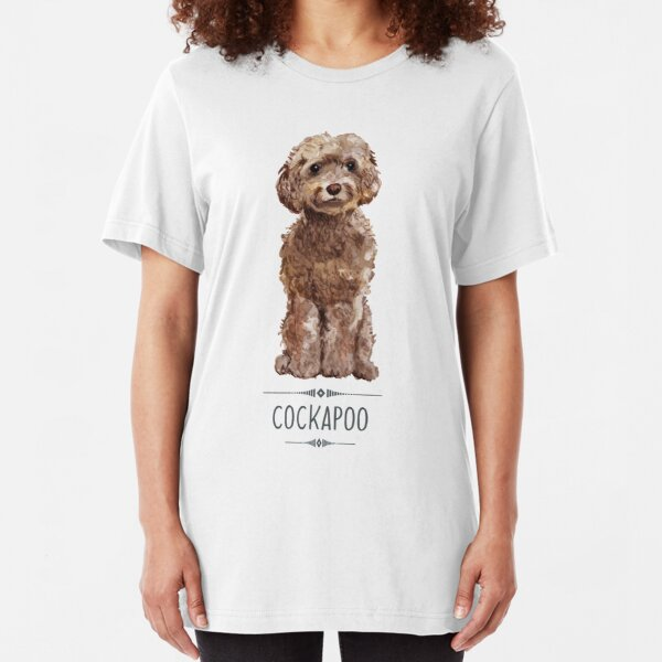 Cockapoo Slim Fit T-Shirt
