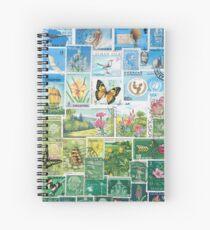 Happy Valley - Postage Stamp Landscape Spiral Notebook