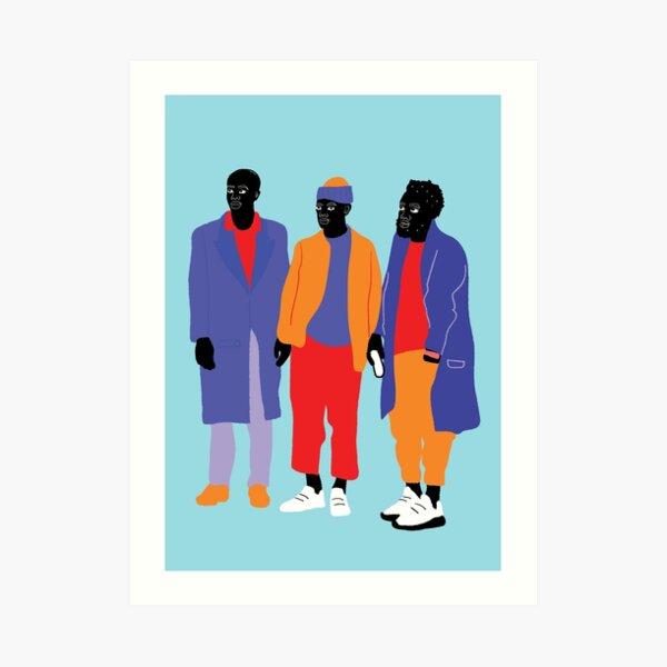 Haut en couleurs 09 Art Print