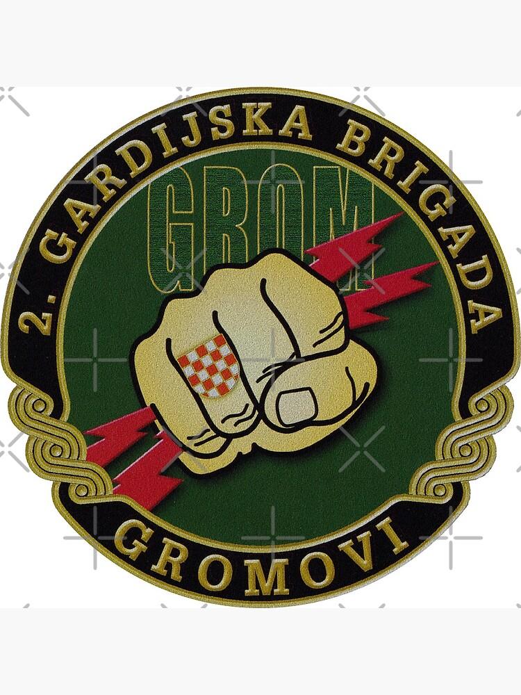 Croatia Army 2nd Guards Brigade GROM by dustydragicevic