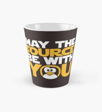 May The Source Be With You - Tux Edition Tall Mug