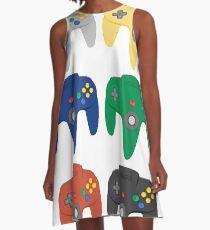 Nintendo 64 Controller Collection A-Line Dress