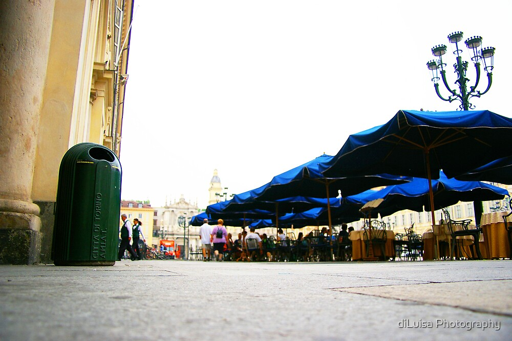 Torino Blue by diLuisa Photography