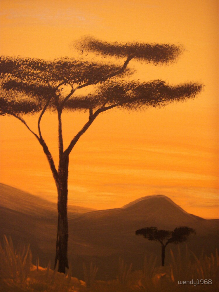 serengeti by wendy1968