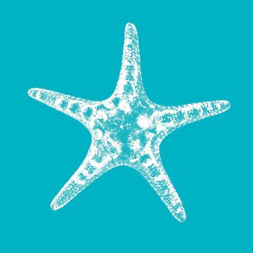 Sea star in blue by IvonDesign