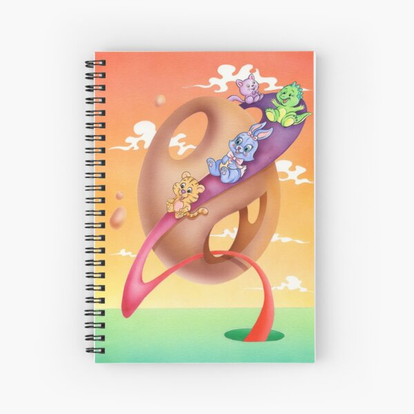 Slide Spiral Notebook