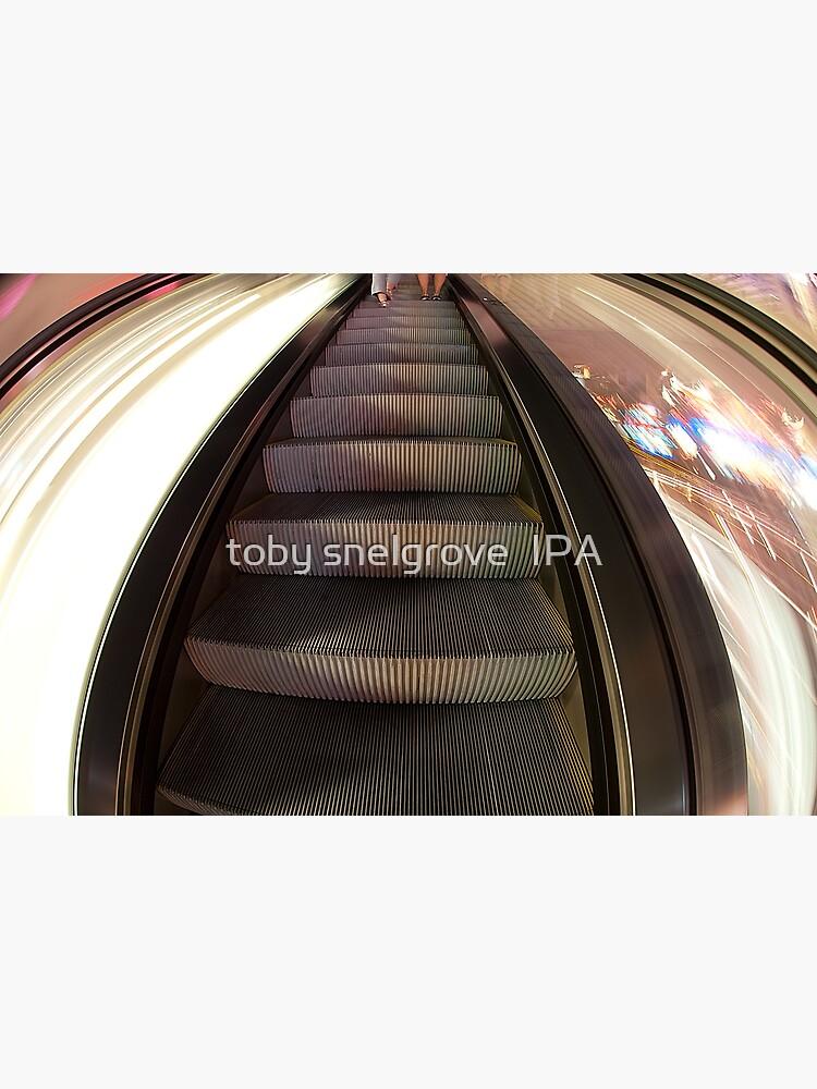 Riding the Escalator by tobysnelgrove