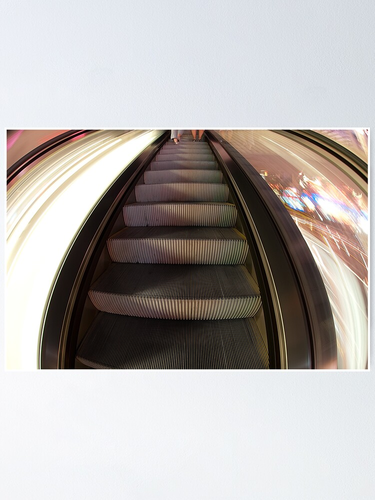 Alternate view of Riding the Escalator Poster