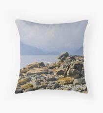 Loch Scavaig Throw Pillow