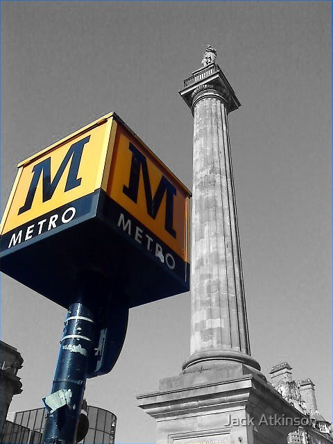 Metro Monument  by Jack Atkinson