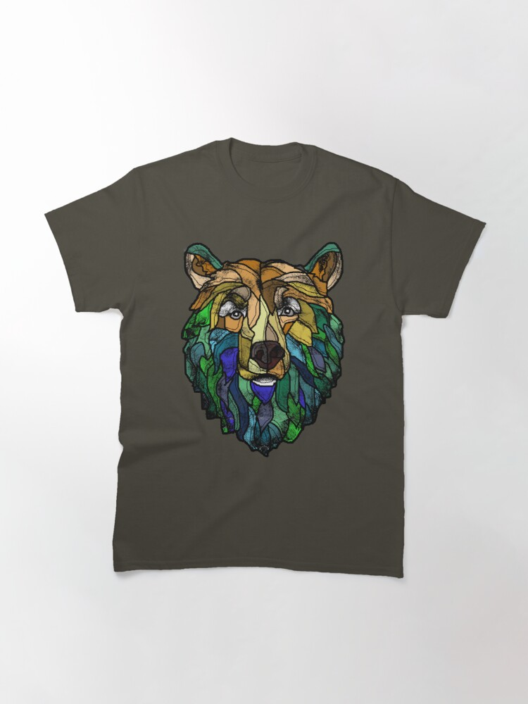 Alternate view of Blue Berry Bear Classic T-Shirt