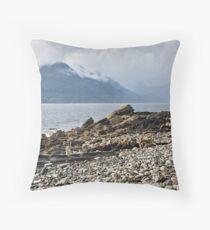 Loch Scavaig 2 Throw Pillow