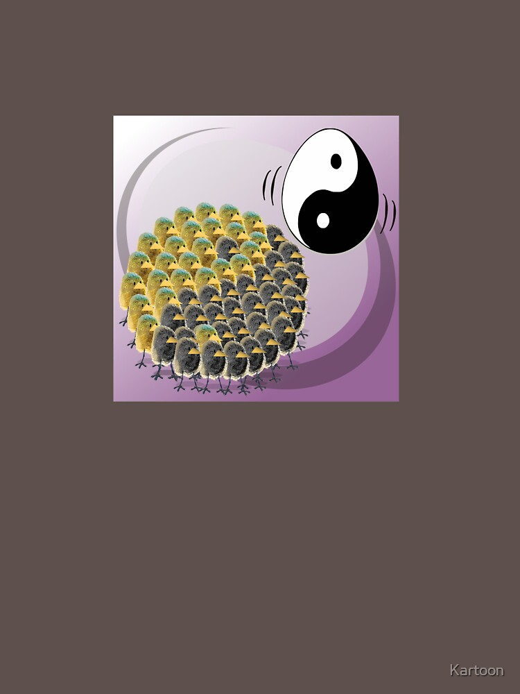 Two Scrambled Eggs - Yin-Yang by Kartoon