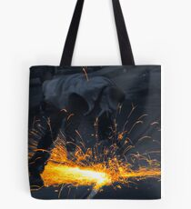 The Daily Grind - Colourised Tote Bag